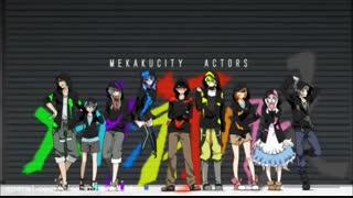Mekakucity Actor Opening