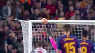 کاشته سه کنج مسی بهترین گل لیگ قهرمانان اروپا ۲۰۱۹