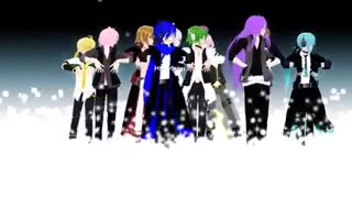MMD] One Two Three - Vocaloid boys]