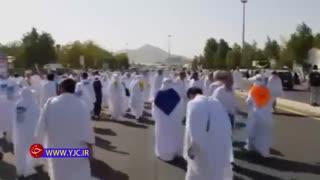 برگزاری مراسم عبادی سیاسی برائت از مشرکان در صحرای عرفات
