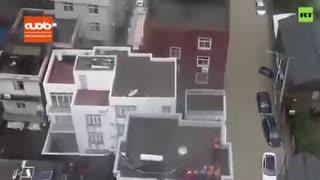 تلفات طوفان و سیل در شرق چین به ۲۸ نفر رسید