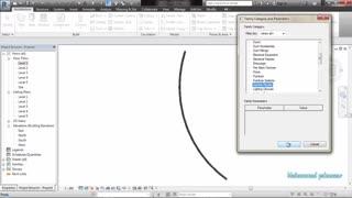 ادیت کردن دیوار منحنی  در نرم افزار رویت - جلسه نهم آموزش رایگان در رویت
