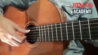 آموزش ضربه تیراندو و آپویاندو در گیتار برای مبتدی ها و تازه کارها (آموزش فرت )