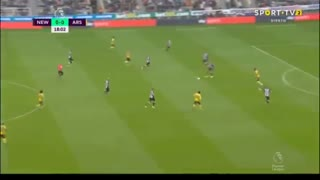 خلاصه بازی نیوکاسل  0 -  آرسنال 1 (هفته اول لیگ برتر انگلیس)
