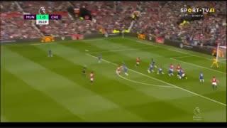 خلاصه بازی منچستریونایتد 4 - چلسی 0 (هفته اول لیگ برتر انگلیس)