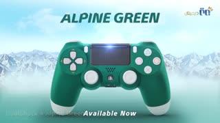 ویدئوی دسته بازی بی سیم سونی مدل DualShock 4- سبز رنگ