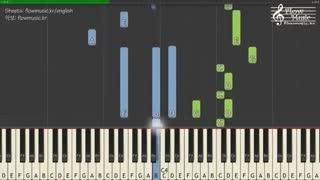 آهنگ do not run away از motte (آهنگ سریال نوجوانان|A_TEEN) (ورژن پیانو)