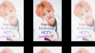 *Happy birthday NCT DREAM`s Jaemin*