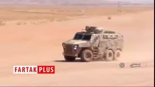 رونمایی از خودروهای تاکتیکی قدرتمند با حضور وزیر دفاع