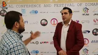 محمد لقمانیان از لقمه شو میگوید