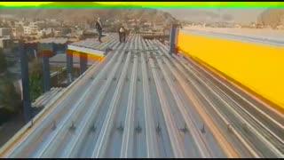 اجرا سقف عرشه فولادی گیلاوند-دماوند09981155650