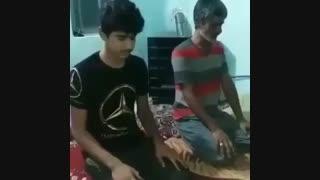 پسرها هنگام نماز