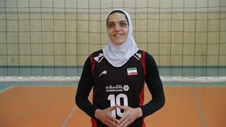 آخرین صحبتهای مائده برهانی کاپیتان تیم ملی والیبال بانوان ایران، پیش از رقابتهای قهرمانی آسیا