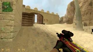 اسکین اسلحه های csgo در بازی کانتر css