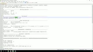 ساخت اسکریپت ورودی در لمپس