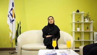 مصاحبه با نماینده برتر بیمه عمر خانم فاطمه بابایی