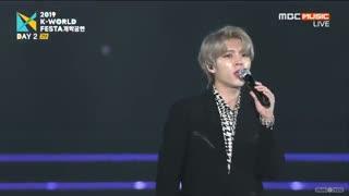 infinite-- Woohyun K_world Festa - Nod Nod& Flower 19/8/16 -nolae