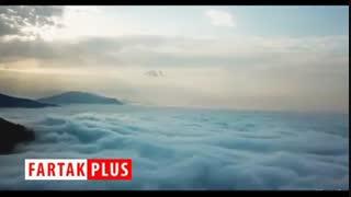 اقیانوسی از ابر در ایران