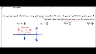 تدریس خصوصی فیزیک کنکور - حل کامل سوالات فیزیک سراسری خارج - تجربی 97 - قسمت اول