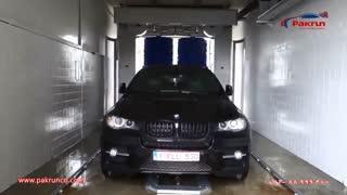 شستشوی BMW X6 با دستگاه کارواش اتوماتیک Mnex 22