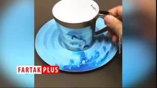 طراحی فنجانهایی جالب و عجیب