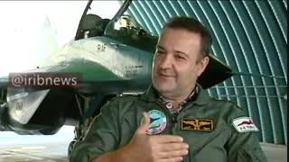 خاطره خلبان ایرانی