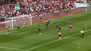 خلاصه بازی لیورپول 2 - ساوتهمپتون 1 (لیگ برتر انگلیس)