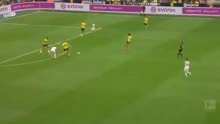 خلاصه بازی دورتموند 5 - آگزبورگ  1 (بوندسلیگا آلمان)