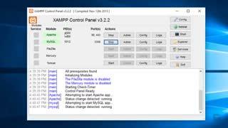 نصب xampp برای نصب وردپرس روی کامپیوتر شخصی