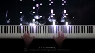 Bts Winter bear piano cover
