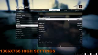 GTA V Amd 530 Gaming Benchmark