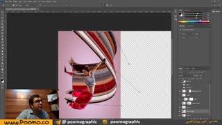 طراحی استوری اینستاگرام در فتوشاپ - بازی با پیکسلها - فیلم سوم