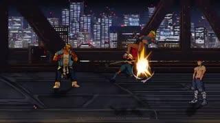 تریلر جدید Streets of  Rage 4(شورش در شهر 4)