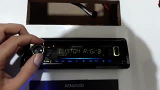 ظاهر و دمو پخش 320UI کنوود