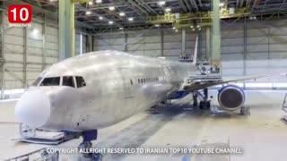آیا مى دانید علت سفید رنگ بودن بدنه هواپیما چیست؟