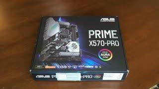 آنباکسینگ مادربرد ASUS PRIME X570 PRO