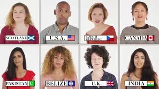 شعر تولد به ۷۰ زبان مختلف 70 People on How To Sing the Happy Birthday Song in Their Country | Condé Nast Traveler