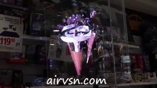 ایرویژن نسل نوین نمایشگرهای سه بعدی معلق در هوا.