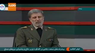 توضیحات وزیر دفاع در مورد سامانه «باور ۳۷۳»