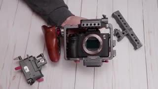 اجاره تجهیزات فیلمبرداری،کیج نگهدارنده دوربین آلفا 7،اجاره نگهدارندهده های دوربین