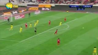 خلاصه بازی پرسپولیس 1 - 0 پارس جم جنوبی