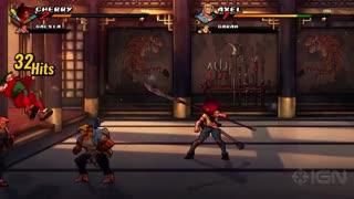 7 دقیقه گیم پلی بازی Streets of Rage 4