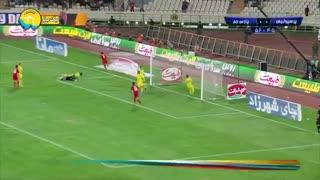 خلاصه بازی پرسپولیس 1_0 پارس جم جنوبی (هفتۀ 1 لیگ برتر)
