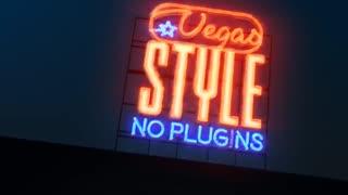 دانلود پروژه افترافکت نمایش لوگو نئون The Neon Sign