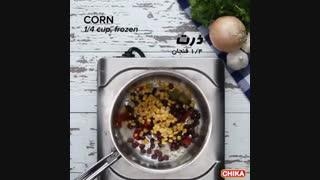 دستور آسان آشپزی: سوپ سبزیجات