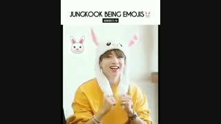 جونگ کوک پک کامل استیکر« بی تی اس Jungkook»