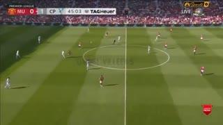 خلاصه بازی منچستریونایتد 1 - کریستال پالاس 2 ( لیگ برتر انگلیس )