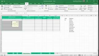 آموزش Data Validation در اکسل - دوره مجازی و آنلاین