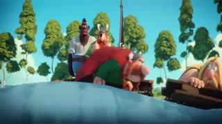 انیمیشن آستریکس: راز معجون جادویی دوبله فارسی 2018
