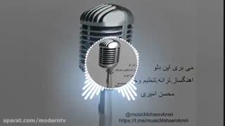 اهنگ جدید و بسیار زیبای محسن امیری به نام می بری این دلو